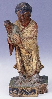 神像:婆祖(鳥母)