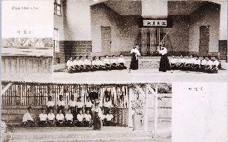 淡水高等女學校武道場與弓道場